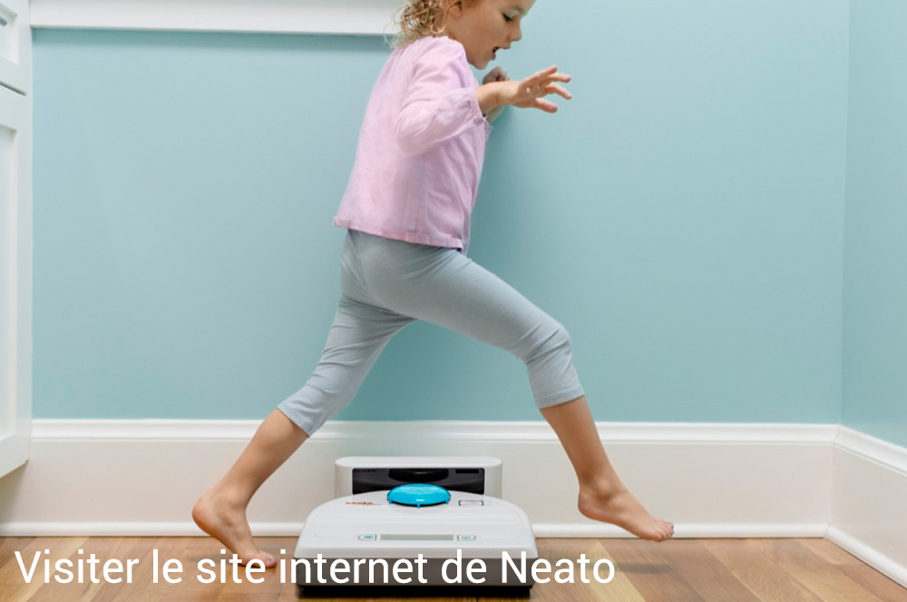 Visiter le site internet de Neato