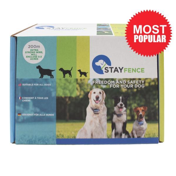 Visuel principal du produit : Collier Anti Fugue pour chien compatible Robot-Tondeuse  Stayfence