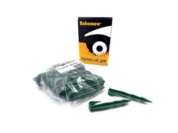 Visuel principal du produit : paquet de piquets 50 pièces Robomow