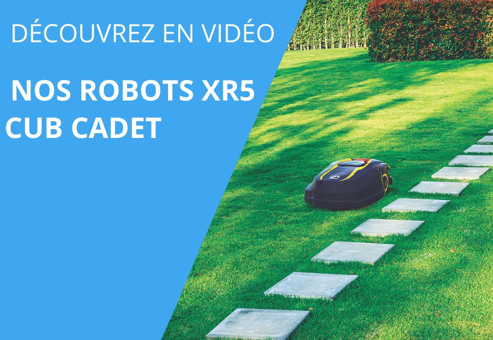 Cub Cadet | Gamme XR | Robots de tonte XR5