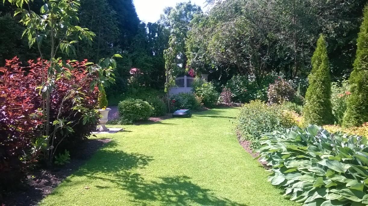 Visuel présentant le résultat de l'installation pour la référence : Magnifique jardin chez Mickael (Mai 2015)